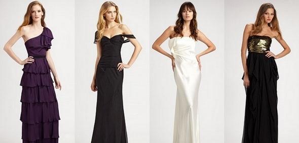 Вечерние длинные платья для худых