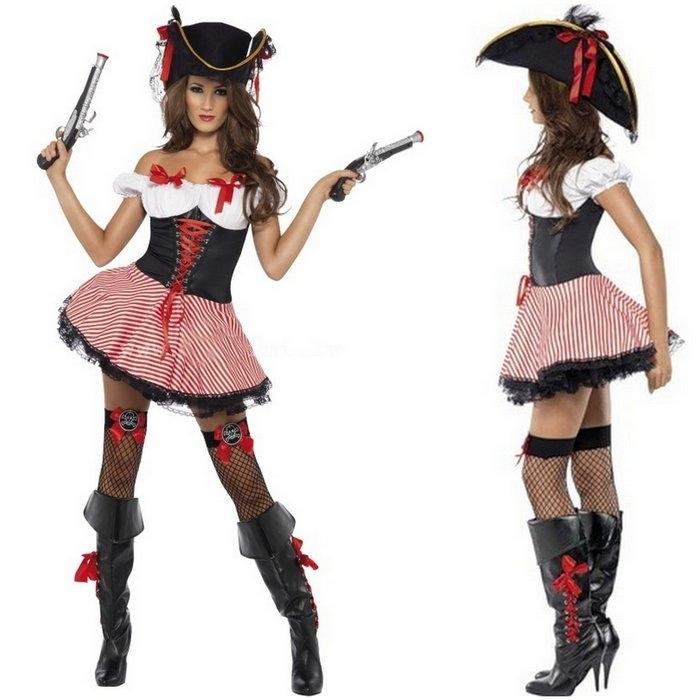 Костюм на пиратскую вечеринку для девочки своими руками фото 20