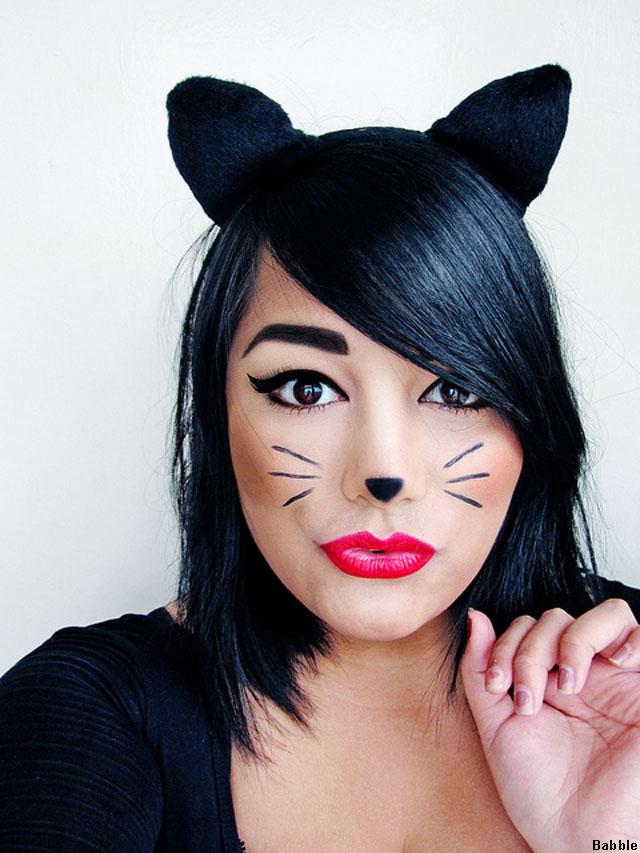 Костюм кошка на хэллоуин своими руками