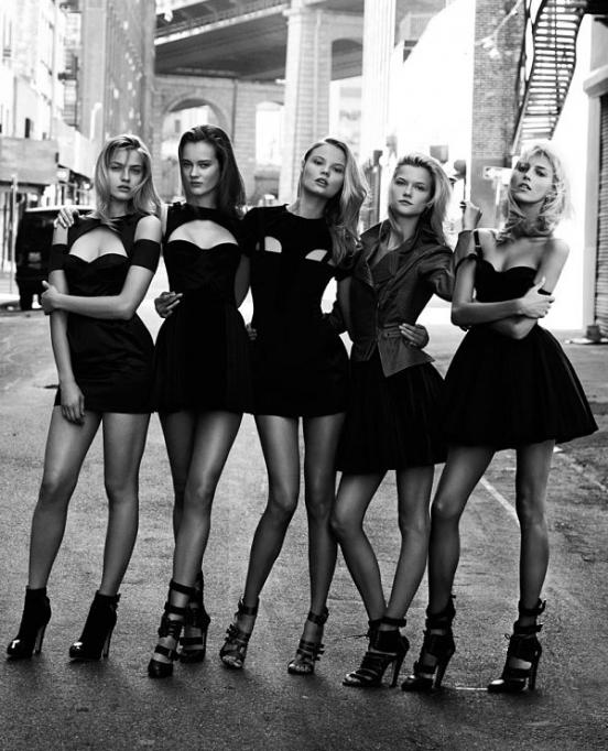 черные платья для девушек