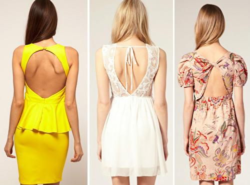 Как сшить девочке платье с открытой спиной 40