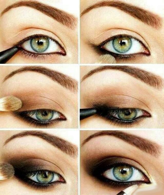 макияж к платью черного цвета