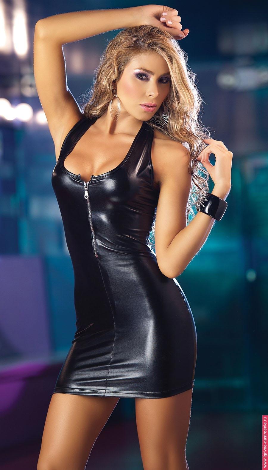 Сексуальные девушки в кожаных одеждах 25 фотография