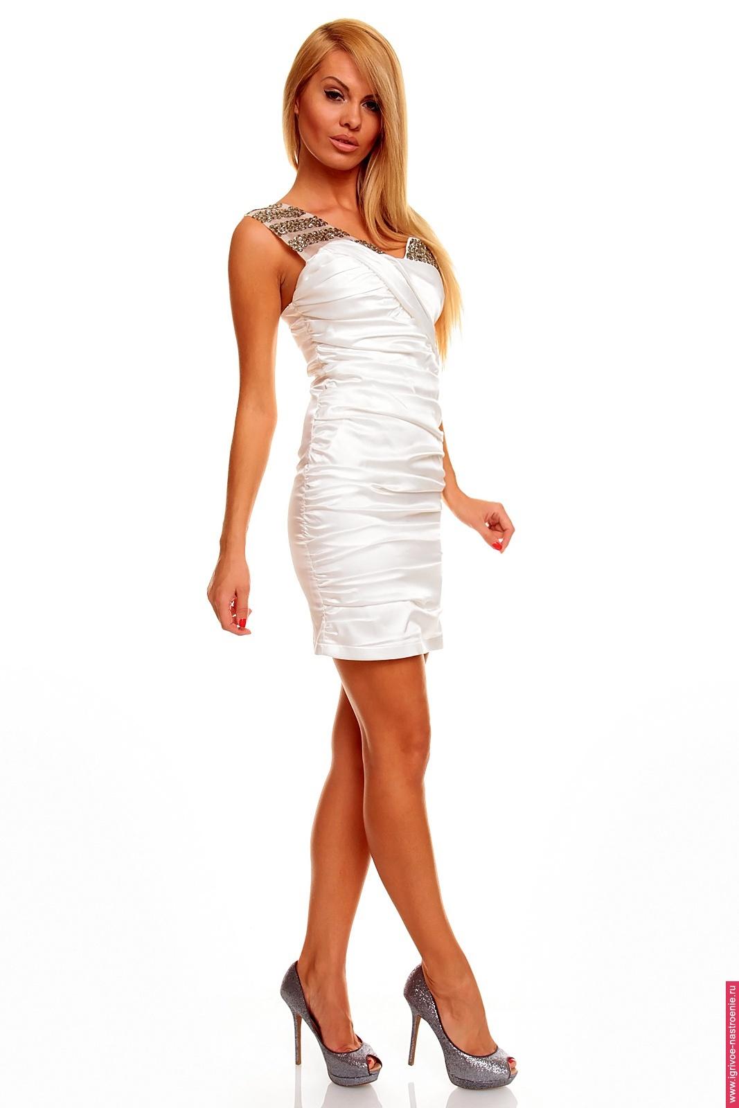 Как украсить платье на плечах своими руками
