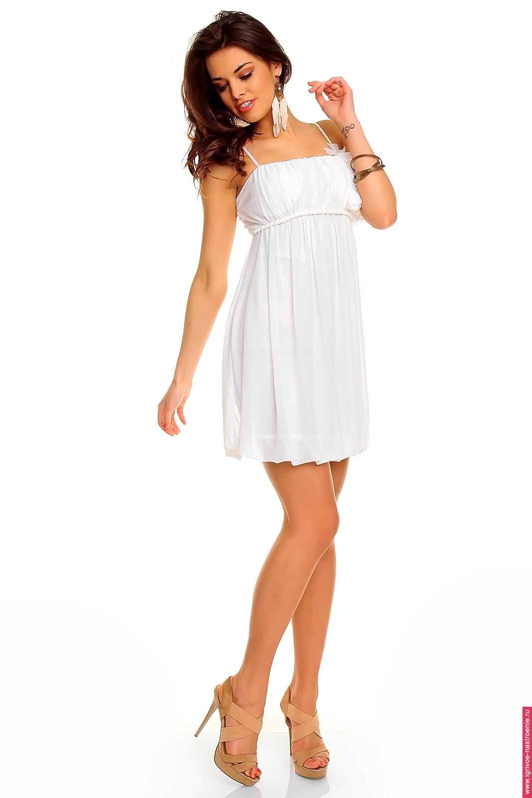 Короткие платья сарафаны