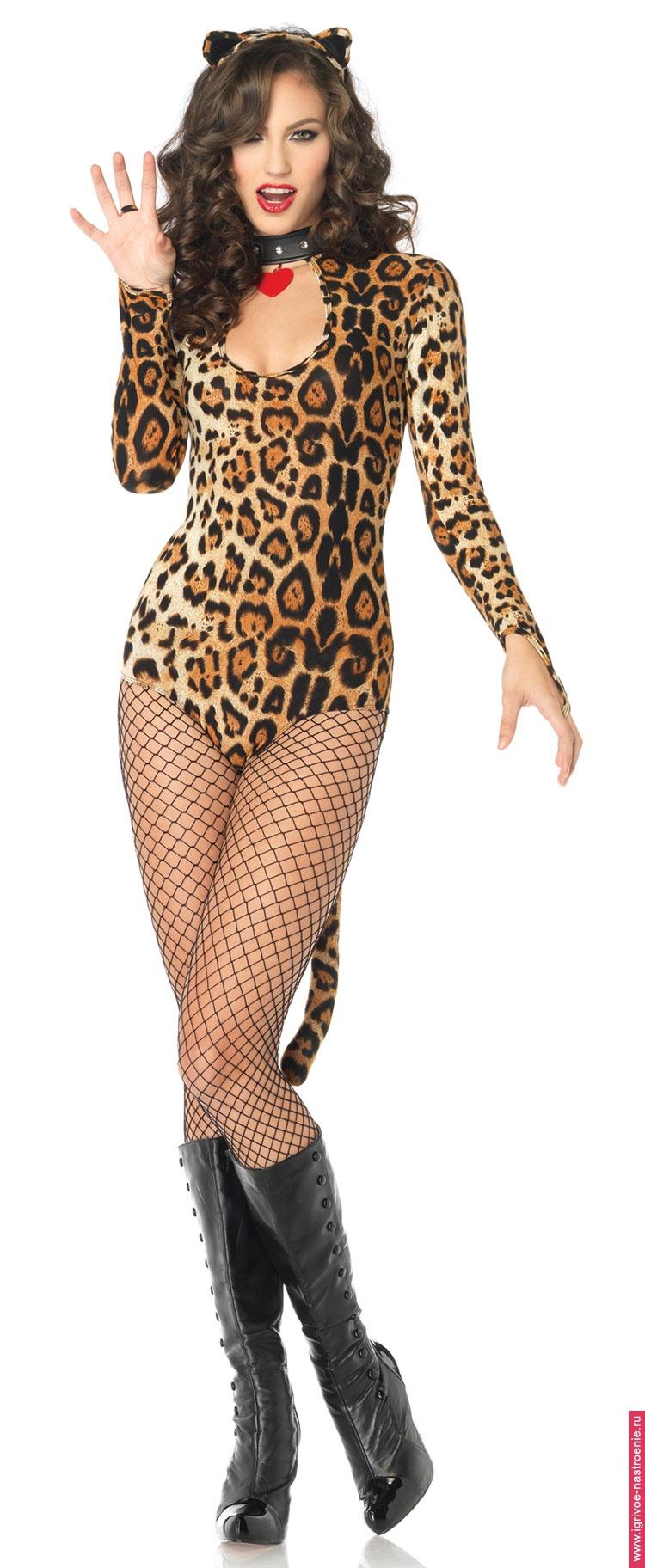 Секс в леопардовом костюме 4 фотография