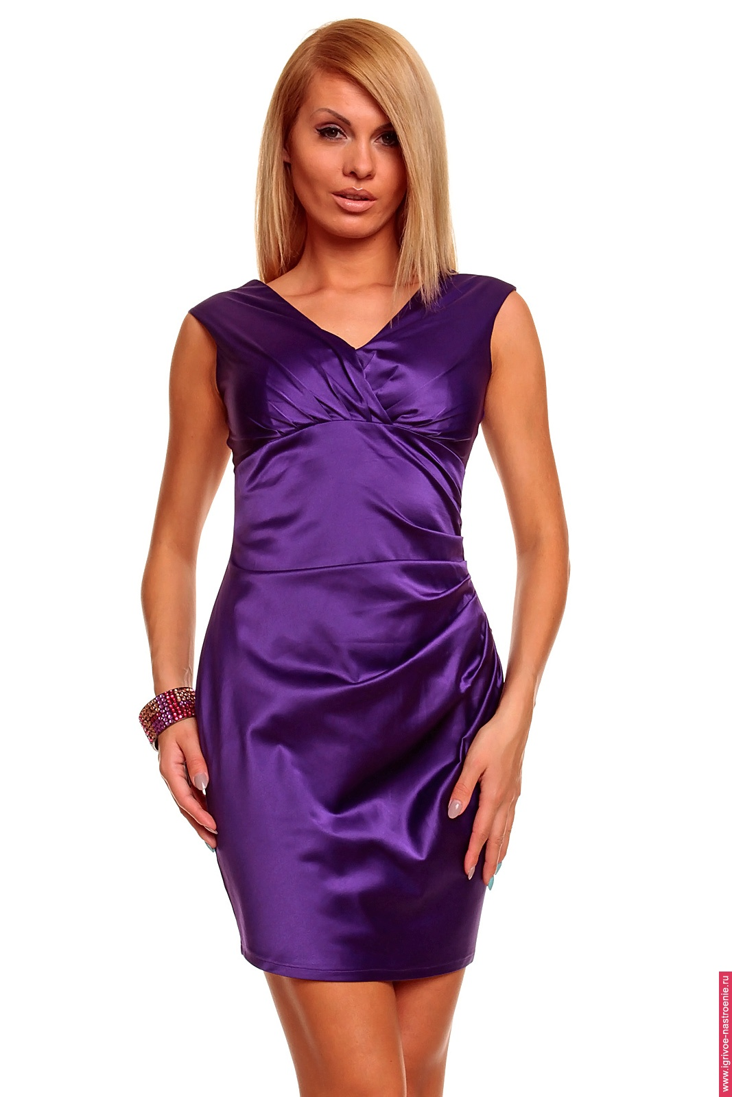 Сиреневое Платье С Доставкой